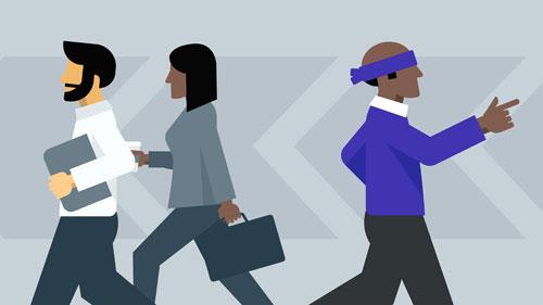 دوره شناخت و پوشش دادن نقاط کور رهبری سازمانی